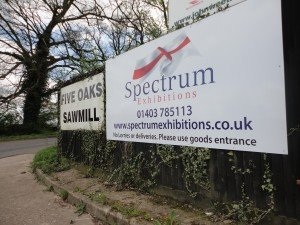 Spectrum Exhibitions Five Oaks Sawmill