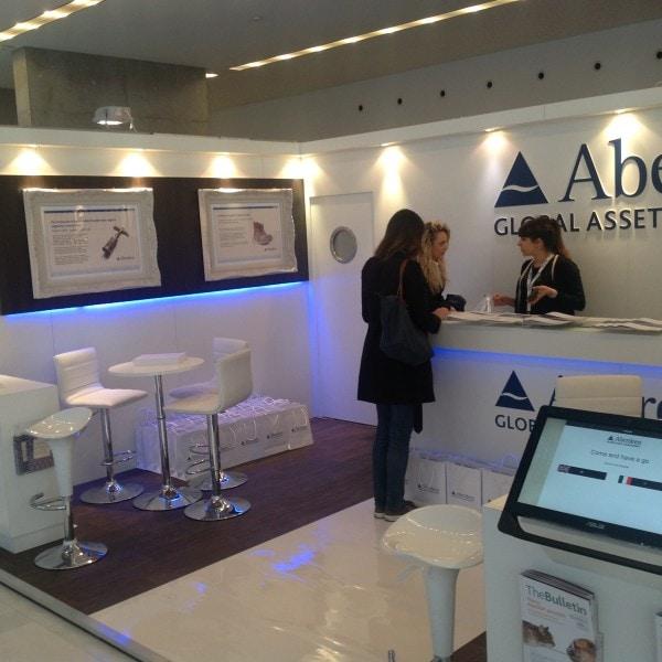Aberdeen Global Asset Management display in Milan