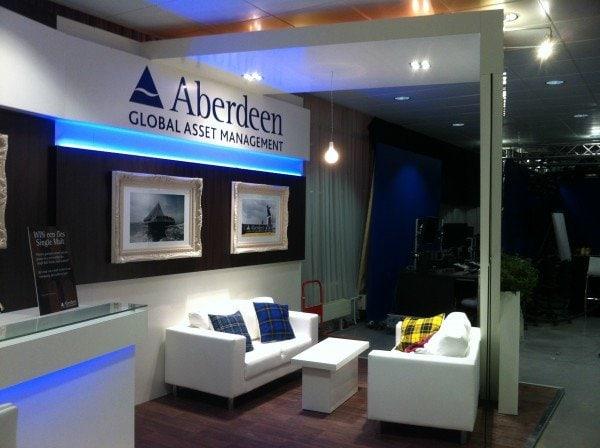 Aberdeen Global Asset Management Amsterdam Display Stand