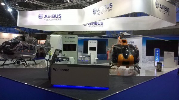 Airbus Helicopters Display Stand