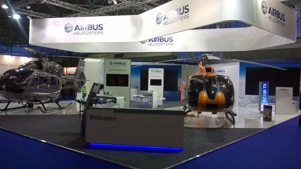 Airbus Helitech Amsterdam Stand