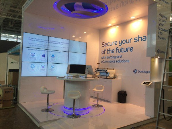 Barclaycard E-commerce Display Stand