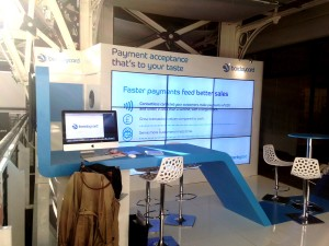 Barclaycard Display Stand