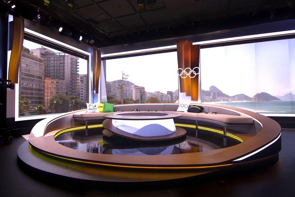 BBC Rio TV Set Build