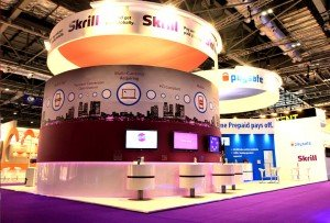 Skrill Exhibition Stand