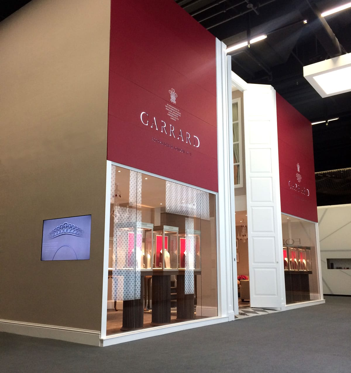 Garrard display stand at the Baselworld Show 2015