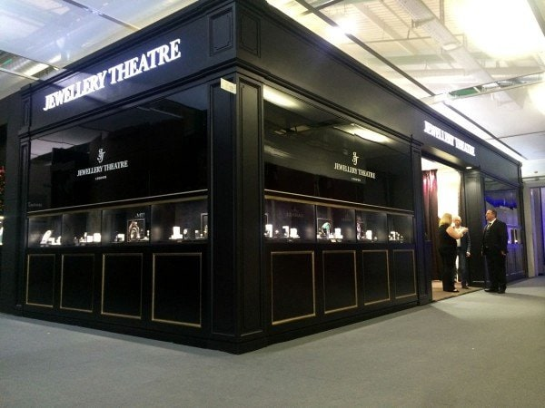 Jewellery Theatre Display for Baselworld Show
