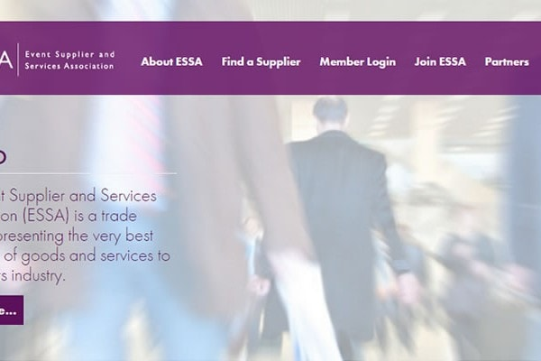 ESSA Web Site Screenshot