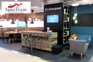It's Liverpool Exhibition Stand with Seating Example