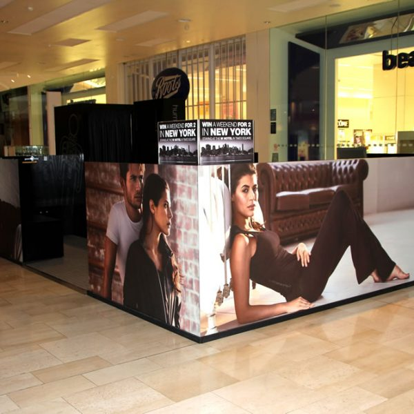 Pop Up Stand, Westfield Shopping Centre London