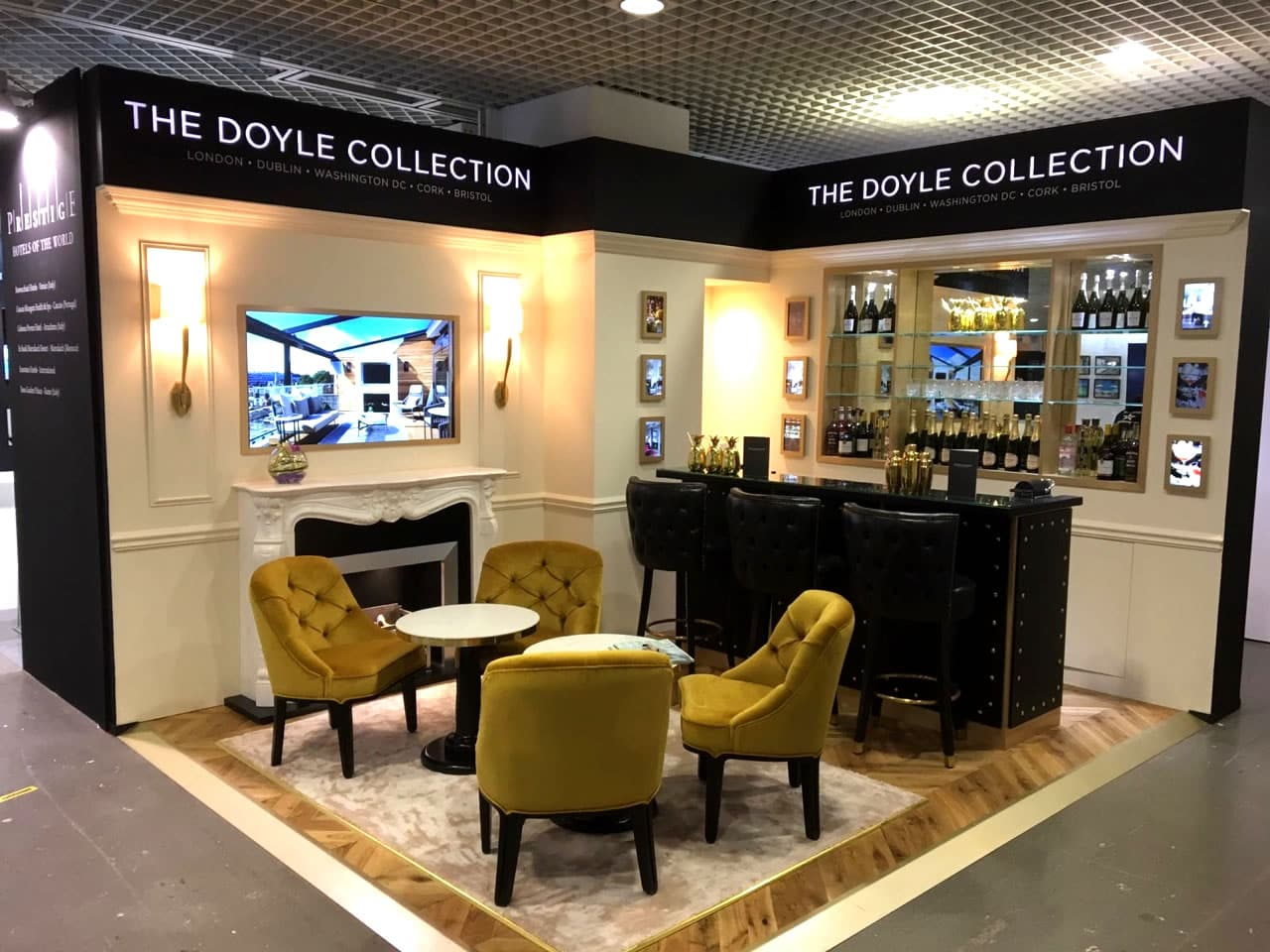 Doyle Collection Exhibition Stand