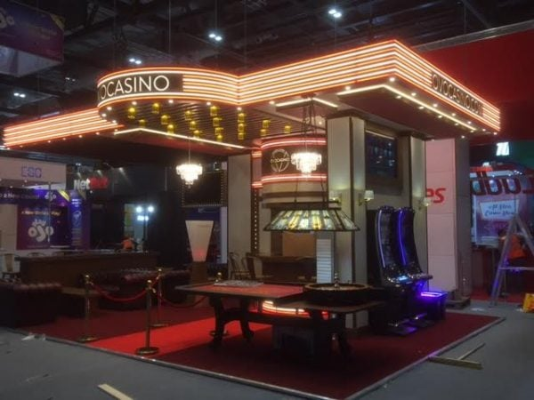 OVO Casino Exhibition Stand Design & Build