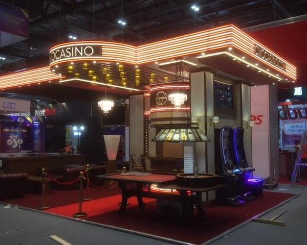 OVO Casino Exhibition Stand Design & Build