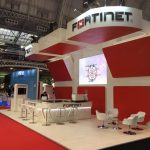 Fortinet Exhibition Stand Design for Infosecurity Show at London's Olympia